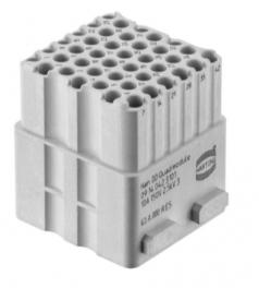 Han DD Quad module female, 0,14-2,5mm², Crimp