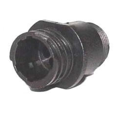 AMP CPC Receptacle housing for male contacts 4-pole