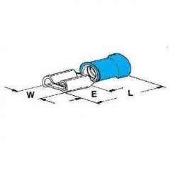 PIDG-FASTON 4,8x0,5-2,5