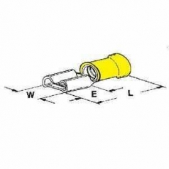 PIDG-FASTON 6,3x0,8-6