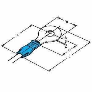 PIDG-Ring Tongue Terminal A4-2,5