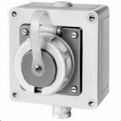 Compressed waterproof plug IP 68, German System