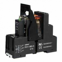 Complete Relay Modules (27mm) 3 C/O contacts 24V AC