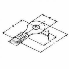 AMP SOLISTRAND Ring Tongue Terminal A5-6