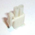 Mini Universal MATE-N-LOK Steckgehäuse 2-polig