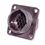 AMP CPC Flange-Receptacle housing for male contacts 16-pole