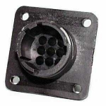 AMP CPC Flange-Receptacle housing for male contacts 9-pole