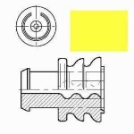 AMP Superseal single wire seal yellow