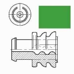 AMP Superseal single wire seal green