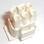 Universal MATE-N-LOK Steckergehäuse 6-polig