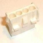 Universal MATE-N-LOK Aufnahmegehäuse 4-polig