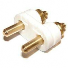 Pin insert for metal appliance buit-in plug DIN 49 491