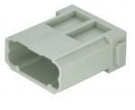 Han DD modul male insert, 0,14-2,5mm², crimp