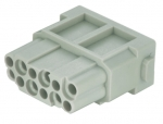 Han DD modul female insert, 0,14 - 2,5 mm², crimp