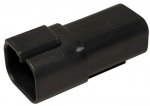 DEUTSCH Receptacle Housing 4-pole DT-Series black