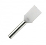Double Wire Ferrules 8 mm white 2 x 0,5 mm² - 500er PU