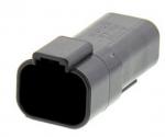 DEUTSCH Steckergehäuse 4-polig DT-Serie schwarz