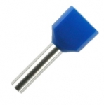 Double Wire Ferrules 13 mm blue 2 x 2,5 mm² - 250er PU