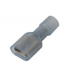 fully insulated receptacles 6,3 x 0,8