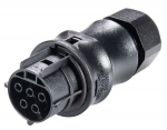 wieland RST-Classic Connector RST20i5, female, 5 pole