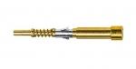 Han D LWL-Stiftkontakt (28 mm), für 1 mm Kunststoff-Faser