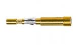 Han D fibre optic pin contact 1 mm POF