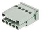Han E modul female, 0,5-2,5mm², screw