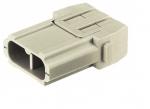 Han 40 A module male insert, crimp, 1,5-10mm²