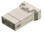Megabit module male insert, 0,14-2,5mm², crimp