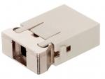 Megabit module male insert, 0,14-2,5mm², (shield GND) crimp