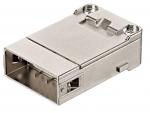 Han shielded module male insert, 0,09-0,52mm², crimp