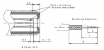 Han D-Sub solder contact, 75Ω, RG 179BU, 187AU