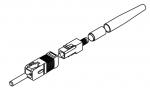 LWL SC Stecker, Stift, 230HCS Kav Ø 2,8