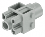 Han 200 A module, female, crimp, 25 - 70 mm², with protective insert