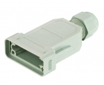 Han-Modular ECO coupler IP65, with PE