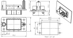 Han-Modular docking frame 3 for modules fixed