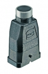 Han-Compact hood, top-entry, M25, for Han-compact half cable gland