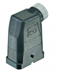 Han-Compact hood, M25, side entry, for Han-Compact half cable gland