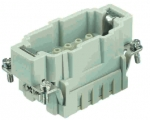 Han 10E HMC male insert, crimp, 0,14 - 4 mm²