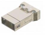 Megabit HMC male insert, 0,14-2,5mm², (shield-GND) crimp