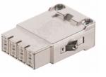 Megabit HMC female insert, 0,14-2,5mm², (shield-GND) crimp