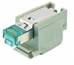 Han-Brid RJ45 C hybrid network connector, Cat6