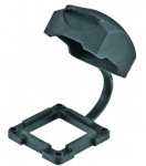 Han-Yellock 10 protection cover with seal, for bulkhead mounted housings