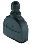 Han-Eco A 16A hood, integr. cable gland, top entry, 1xM20, outdoor