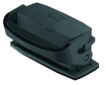 Han-Eco A 16A Bulkhead mounted housing, with thermo-plastic cover, outdoor
