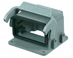 Han 10B Drive housing for motor application, single locking lever