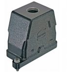 Han 10B HPR hood, top entry, 1xM32, screw locking