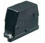 Han 10B HPR hood, side entry, 1xM32, screw locking
