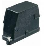 Han 16B HPR hood, side entry, 1xM25, screw locking