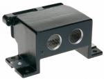 Han 16B HPR surface mounted housing, top entry, 2xM32, screw locking